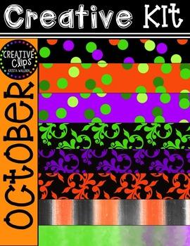 Creative Kit: OCTOBER {Creative Clips Digital Clipart}