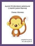 Creative Lesson Planning - Theme: Monkeys