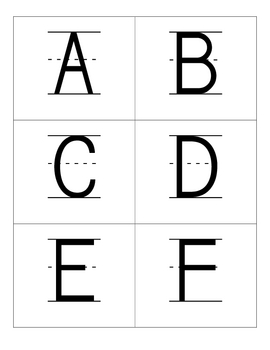 Creative Letter and Phonics Flashcards