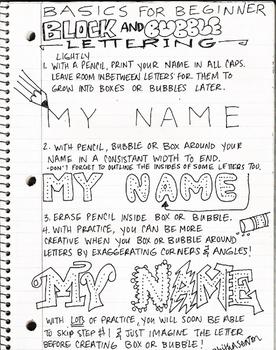 Creative Lettering by Tabitha Morgan