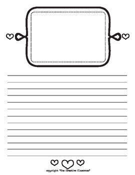 Creative Lined Writing Paper