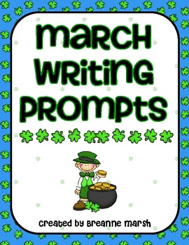 Creative March Writing Prompts