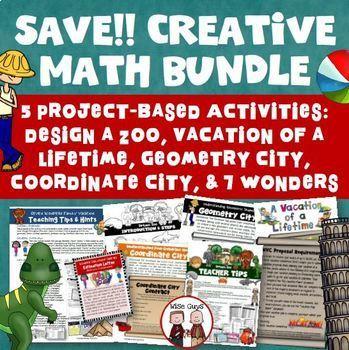 Creative Math Activities Bundle
