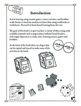 Creative Math and Reading Centers   for Active Learning (eBook Version)