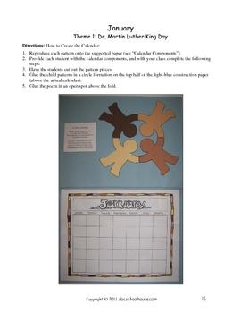 Creative Monthly Calendars