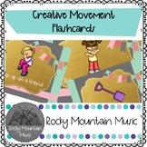 Creative Movement Cards