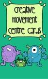 Creative Movement Centre Cards