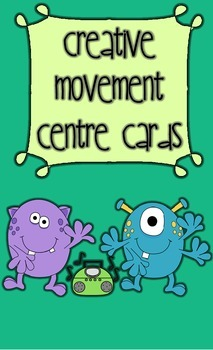 Creative Movement Centre Cards