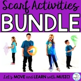 Scarf Movement Activity Bundle for the School Year : Music, PE, Preschool