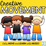 Freeze Dance, Creative Movement Activities PreK-6 Music, PE, Special Needs