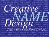 Creative Name Design PowerPoint