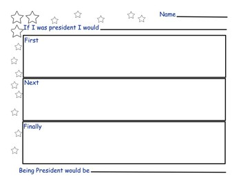 Creative Narrative.If I were President