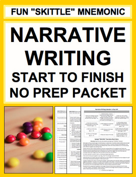Creative Narrative Writing Bundle Complete No Prep Packet: 12-Day Unit