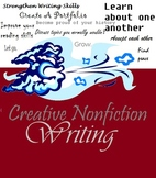 Creative Nonfiction Writing Unit -- Common Core, Journaling, Portfolio