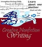 Creative Nonfiction Writing Unit -- Common Core, Journaling, Portfolio