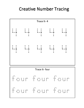 Creative Number Learning 4