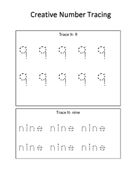 Creative Number Learning 9