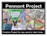 Creative Novel Project Pennant Project for any Novel or Story