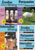 Creative, Persuasive & Information Writing COMPLETE UNIT (9-14 years)
