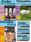 Creative, Persuasive & Information Writing COMPLETE UNIT (Grades 4-8) US Eng Ed