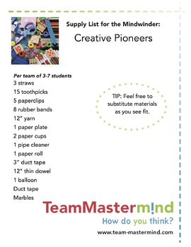 Creative Pioneers ~ Pushing boundaries for centuries!
