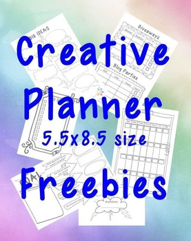 Creative Planner Pages Freebie