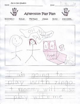 Creative Play Plans