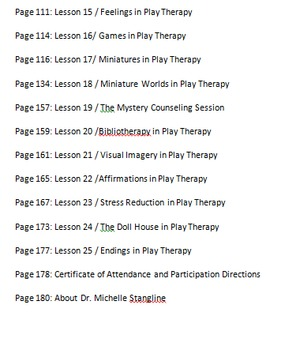 Creative Play Therapy 101 eBook