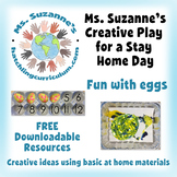 Creative Play for a Stay Home Day: Fun with Eggs