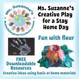Creative Play for a Stay Home Day: Fun with Flour