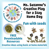 Creative Play for a Stay Home Day: Fun with Seeds