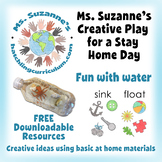 Creative Play for a Stay Home Day: Fun with Water
