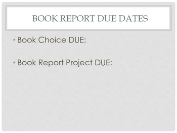 Creative Poetry Book Report