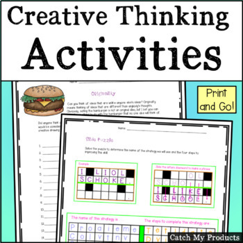 Creative Problem Solving Puzzle
