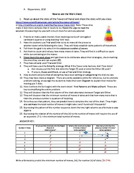 Apply 10 Creative Problem-Solving Strategies with the Tower of Hanoi Puzzle