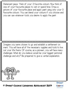 Creative Problem Solving-Task Cards