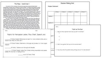Creative Problem Solving - World War I