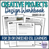 Project Ideas for Gifted Students (design workbook for IB