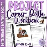 Creative Project Workbook - Career Research Project ESL/ELA