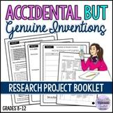 Creative Project Workbook - Theme Scientific Inventions ESL/ELA