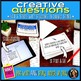 Creative Questions for ANY Novel or Story Editable