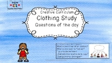 Creative Questions of the Day - Clothing