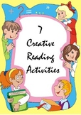 FREEBIE: 7 Creative Reading Activities