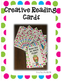 Creative Reading Cards