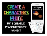 Novel Study Activity For Any Book: Create A Character's iPhone