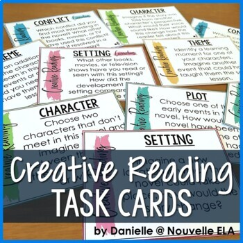 Creative Reading Task Cards