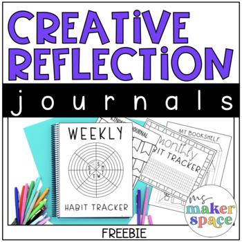 Creative Reflection Journals FREEBIE