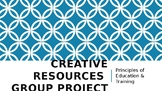 Creative Resources Group Project