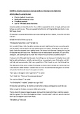 Creative Response & Rationale Model for Curious Incident o