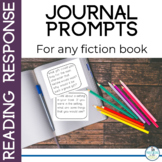 Reading Response Journal Prompts for Independent Reading